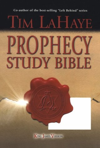 9780899579351: Prophecy Study Bible: King James Version Genuine Burgundy