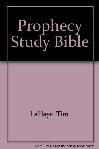 9780899579504: Prophecy Study Bible: New King James Version Bonded Black