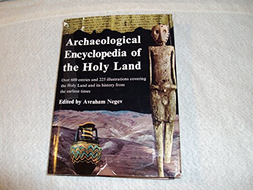 9780899610047: Archaeological Encyclopedia of the Holy Land