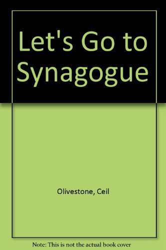 9780899610184: Let's Go to Synagogue