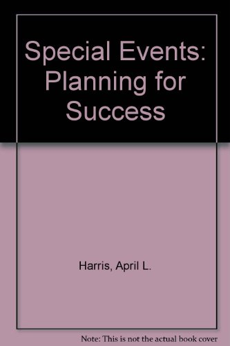 9780899642628: Special Events: Planning for Success