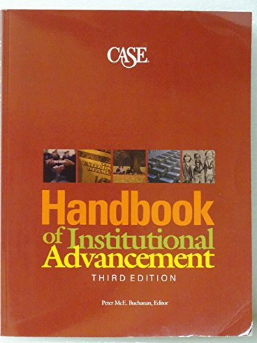 Handbook of Institutional Advancement: Buchanan, Peter M.