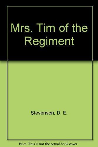 9780899661575: Mrs Tim of the Regiment