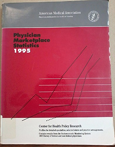 Physician Marketplace Statistics 1995: American Medical Association