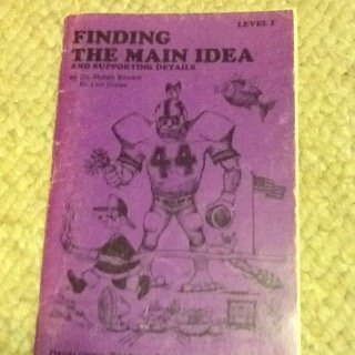 9780899760025: Finding the Main Idea and Supporting Details (Developing Reading Comprehension Skills)