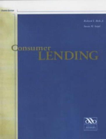 9780899821092: Consumer Lending