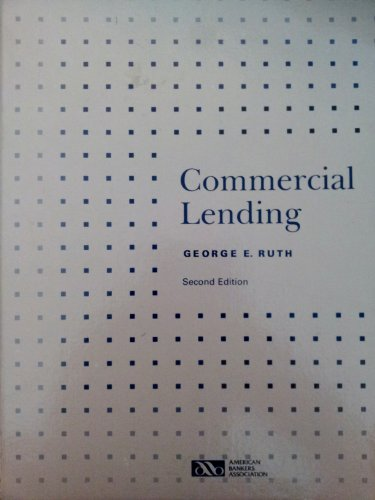 9780899823638: Commercial Lending (Education Policy and Development)
