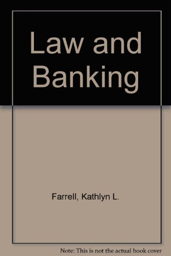 9780899825724: Law and Banking