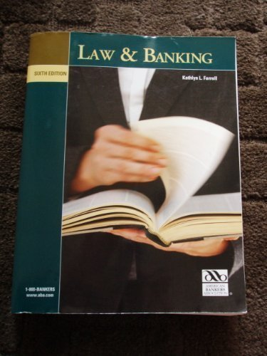 9780899826127: Law and Banking