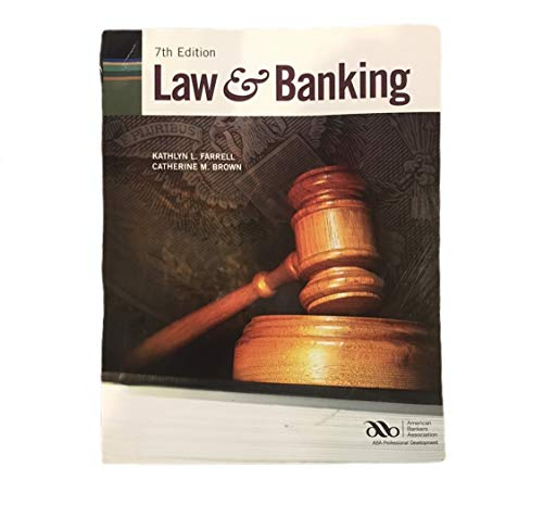 Law and Banking: Catherine M. Brown,