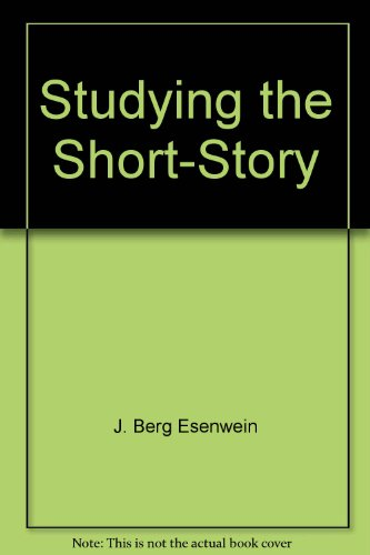 9780899872223: Studying the Short-Story