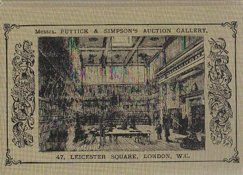 9780899900384: Music at Auction: Puttick and Simpson (of London) 1794-1971