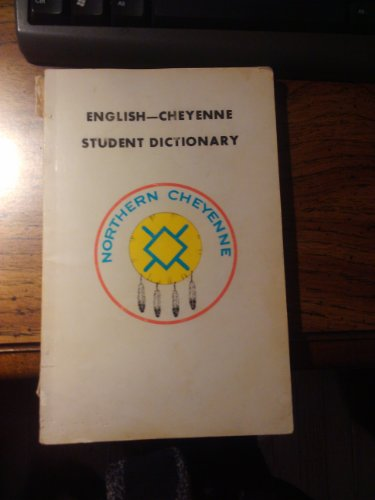9780899925103: English-Cheyenne Student Dictionary