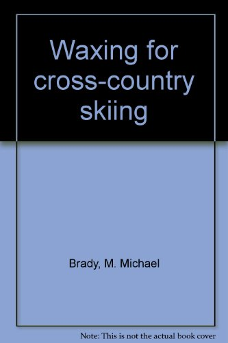 9780899970134: Waxing for Cross-country Skiing