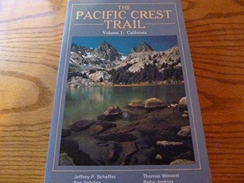 9780899970899: THE PACIFIC CREST TRAIL Volume 1: California