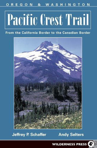 9780899973753: Pacific Crest Trail: Oregon And Washington: From The California Border To The Canadian Border