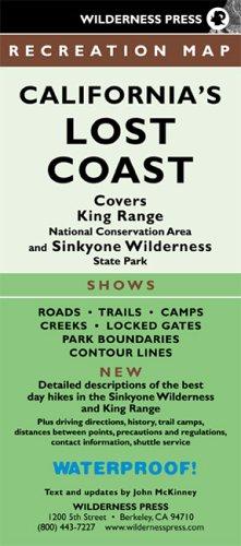 9780899973760: Californias Lost Coast Recreation Map: King Range and Sinkyone Wilderness