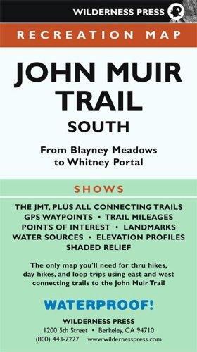 9780899973807: John Muir Trail South Recreation