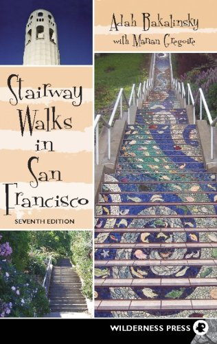 9780899976372: Stairway Walks in San Francisco