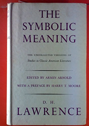 9780900000607: Symbolic Meaning the Uncollected Version