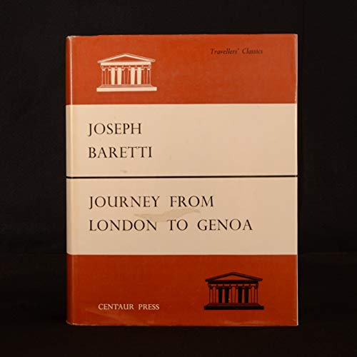 9780900000713: Journey from London to Genoa Through England, Portugal, Spain and France