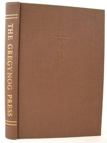 A History of the Gregynog Press: Harrop, Dorothy A.