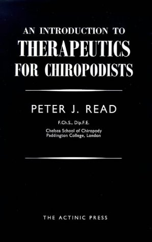 9780900024177: Introduction to Therapeutics for Chiropodists