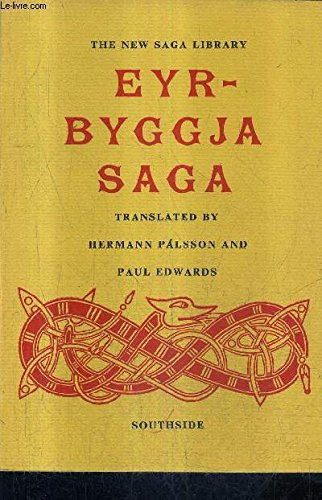 Eyrbyggja Saga (UNESCO collection of representative works: H. Palsson and