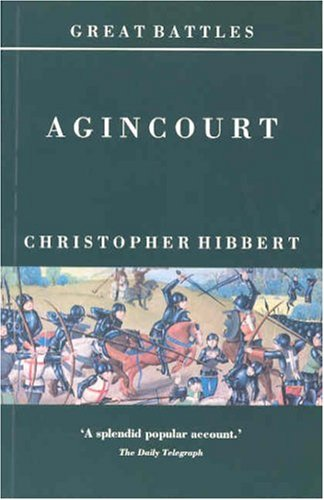 9780900075292: Agincourt (Great Battles)