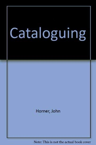 9780900092046: Cataloguing