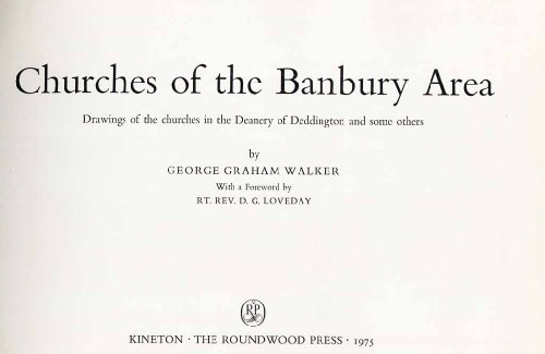 9780900093524: Churches of the Banbury Area