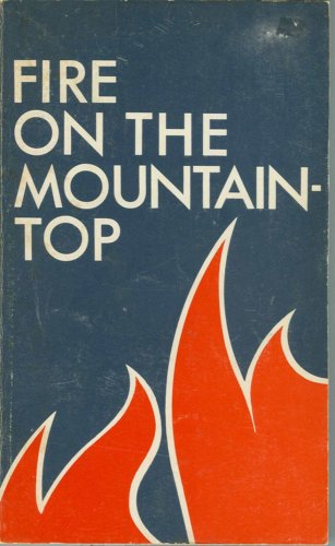 9780900125102: Fire on the Mountain Top