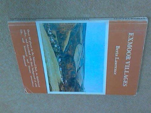 9780900131479: Exmoor Villages