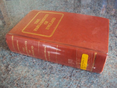 9780900178139: Parliaments of England from 1715 to 1847