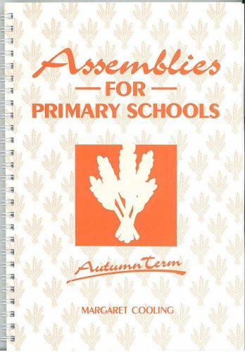 9780900274589: Assemblies for Primary Schools: Autumn Term
