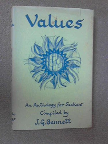 9780900306020: Values: An Anthology for Seekers