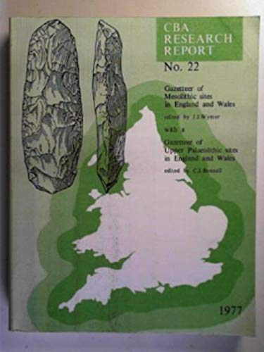 9780900312496: Gazetteer of Mesolithic Sites of England and Wales (CBA research report ; no. 20)