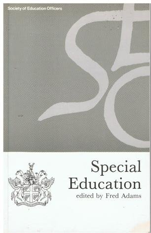 Special Education (Occasional Paper) (0900313374) by Fred Adams