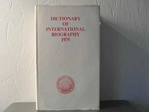 Dictionary of International Biography