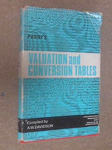 9780900361180: Valuation Tables and Conversion Tables
