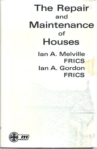 9780900361432: The Repair and Maintenance of Houses