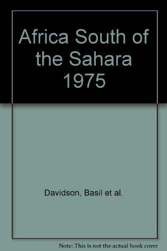 Africa - South of the Sahara, 1975