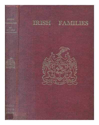 9780900372902: Irish Families: Their Names, Arms and Origins