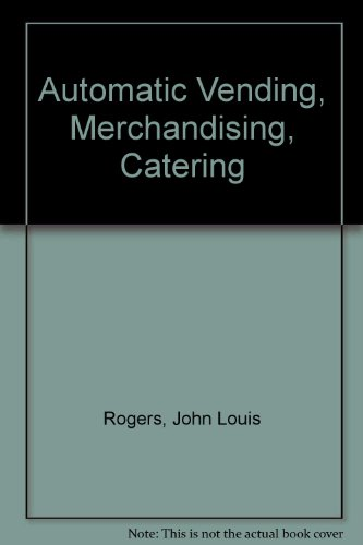 9780900379239: Automatic Vending Merchandising Catering
