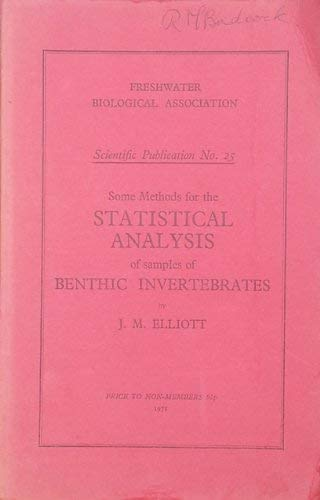 9780900386145: Some Methods for Statistical Analysis of Samples of Benthic Invertebrates (Freshwater Biological Association. Scientific publication)