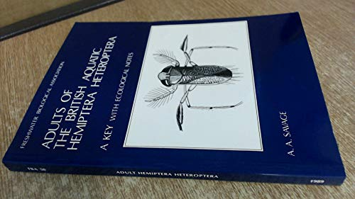 9780900386480: Adults of the British Aquatic Hemiptera Heteroptera: A Key with Ecological Notes (Scientific publication / Freshwater Biological Association)