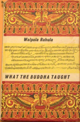9780900406027: What the Buddha Taught