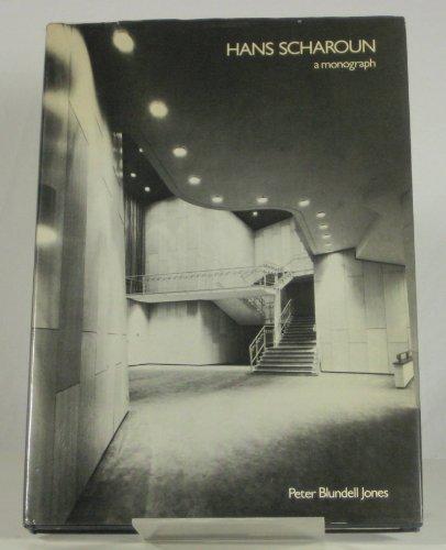 9780900406577: Hans Scharoun: A Monograph