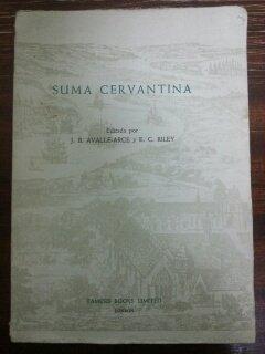 9780900411663: Suma Cervantina