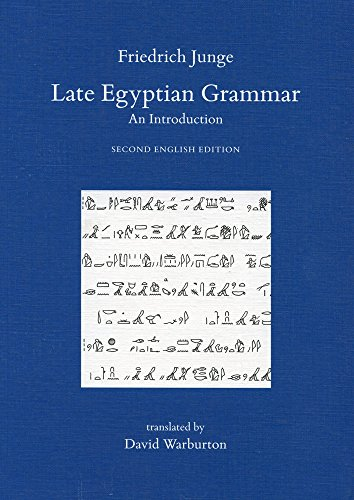 9780900416859: Late Egyptian Grammar (Griffith Institute Publications) (Egyptian Edition)